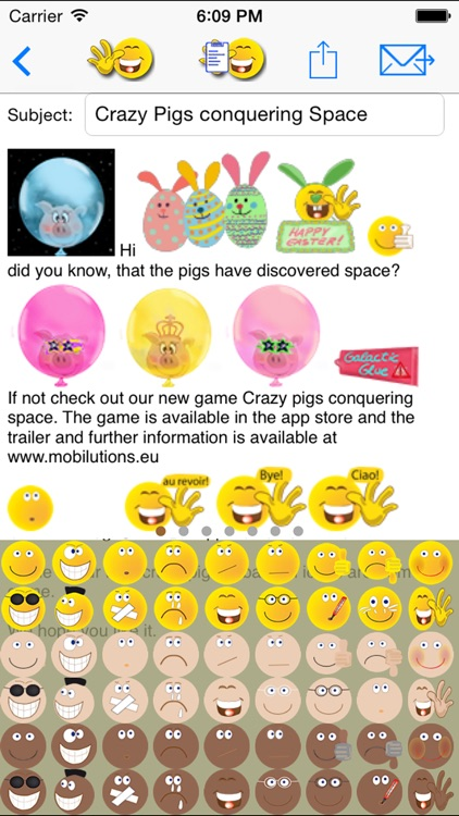 sMaily free  - the funny smiley icon email App with Stickers for WhatsApp screenshot-3
