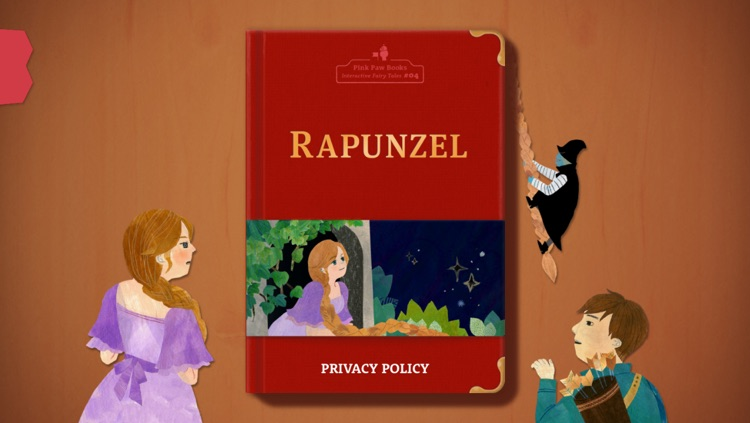Rapunzel - Pink Paw Books Interactive Fairy Tale Series screenshot-0