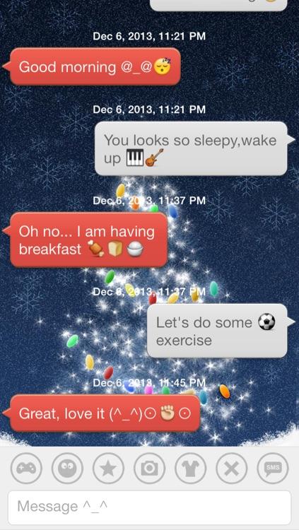 Aqua Emoji Keyboard – make emoticon smiley face in cute bubbles screenshot-4