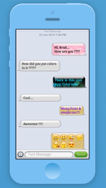 Chroma TeXT - Pimp Your Message with Unique Colors and Fonts screenshot-3