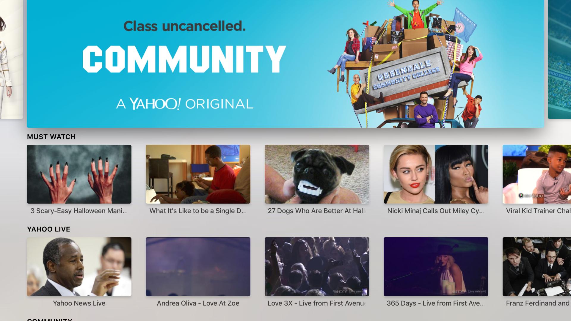 Yahoo: Sports, Finance, & News screenshot 1