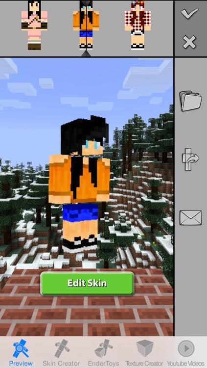 Girls Skins Pro for Minecraft Game Textures Skin screenshot-3