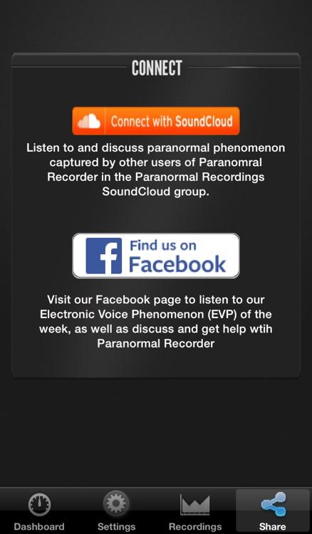 Paranormal Recorder screenshot-4