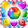 Sweet Jelly Fruit Garden mania : Match 3 Free Game