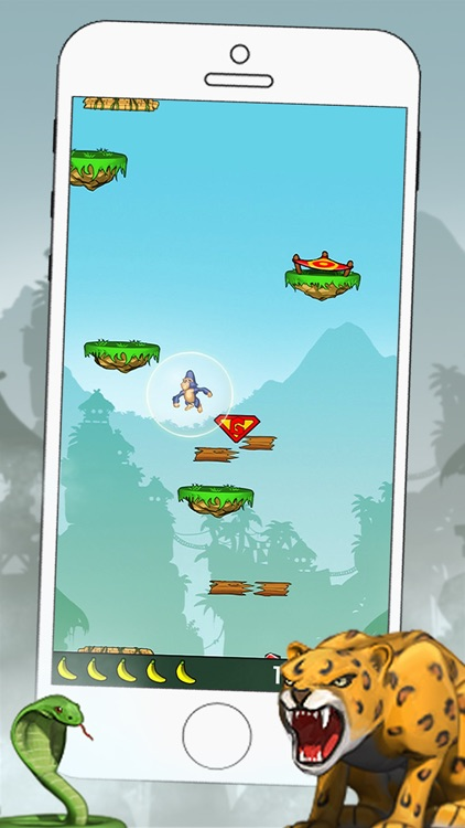 Gorilla Jump - Fun Action Game screenshot-3