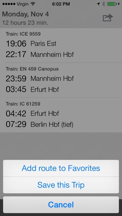 Train & Bus ~ Europe screenshot-3