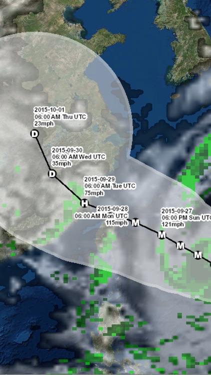 Pacific Hurricane Tracker