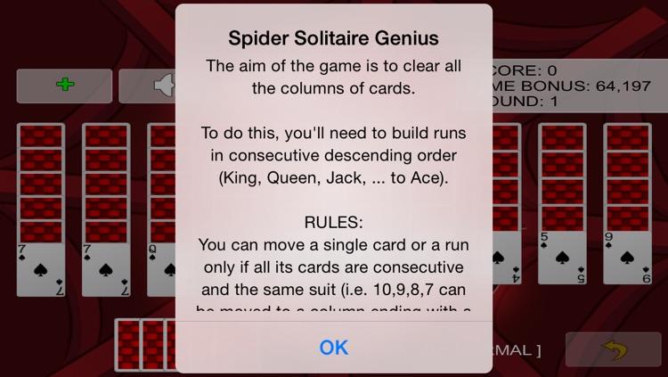 Spider Solitaire Genius 2