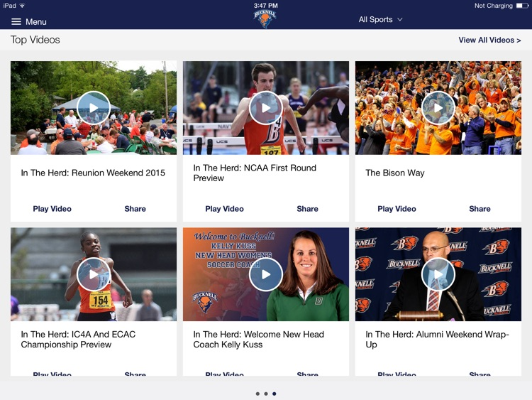 Bucknell Bison for iPad 2015 screenshot-1