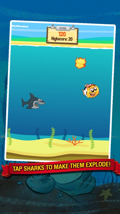 Ocean Soccer - Underwater Kick Ups Finger Football screenshot-3