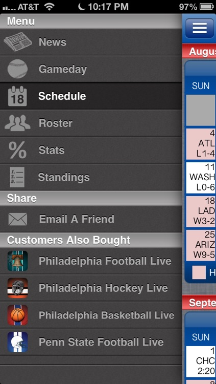 Philadelphia Baseball Live screenshot-2