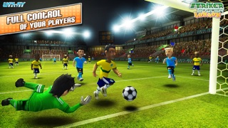 Striker Soccer London: your goal is the gold screenshot two