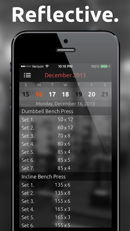 Fitted Lifts - Workout log and exercise tracker for bodybuilding and weight training screenshot-4