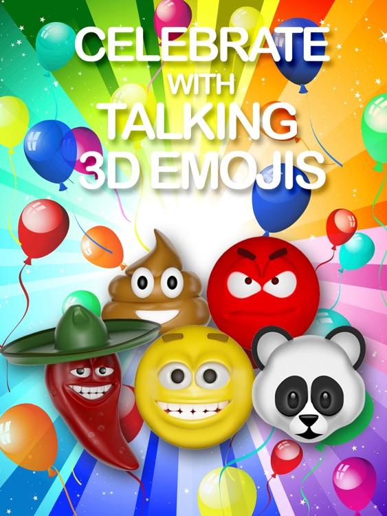 Emoji Party - Talking Emoji Free Video Maker for YouTube, Text, WhatsApp, Kik, Viber, Tango, ooVoo, iFunny, WeChat plus Tumblr