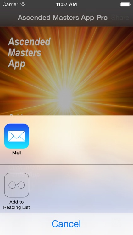 Ascended Masters App Pro screenshot-1
