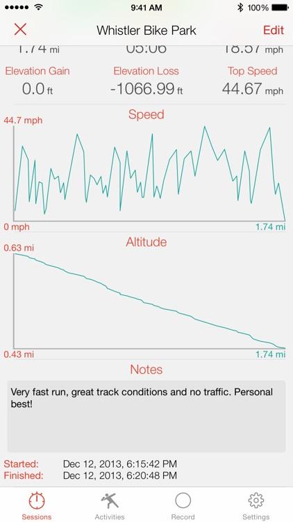 Crono - Sports GPS Tracker screenshot-3
