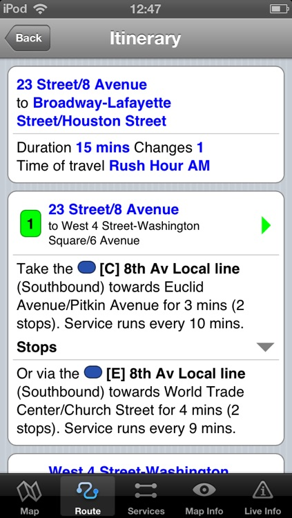 New York Subway - Map and route planner by Zuti