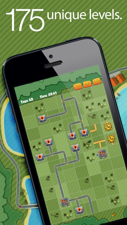 City tycoon - road puzzle!