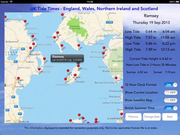 UK Tide Times Pro screenshot-4