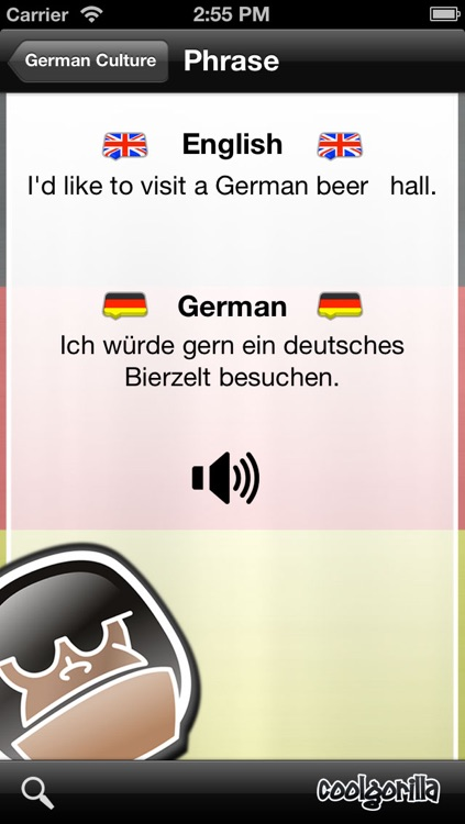 German Talking Phrasebook screenshot-4