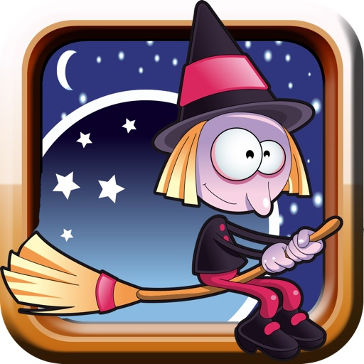 A Bubble Witch Halloween - escape if you can from the vampire and jump into the spider web to get high-speed chase race - free version