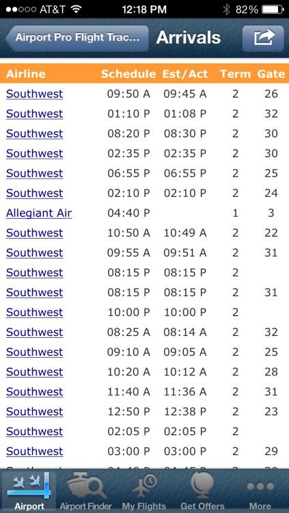 Oakland Airport info + Flight Tracker screenshot-3