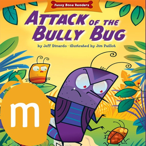 Attack of The Bully Bug - Interactive eBook in English for children with puzzles and learning games