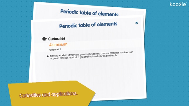 Kookie periodic table of elements on the app store urtaz Gallery