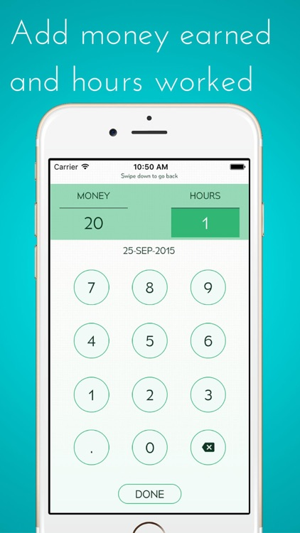 Calculate My Tips - Track your hourly rate and  salary, income and wages
