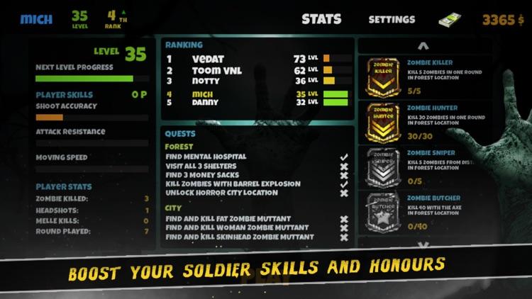 Dark Dead Horror Forest 2 : Scary FPS Survival Game screenshot-3