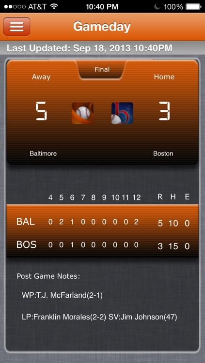 Baltimore Baseball Live