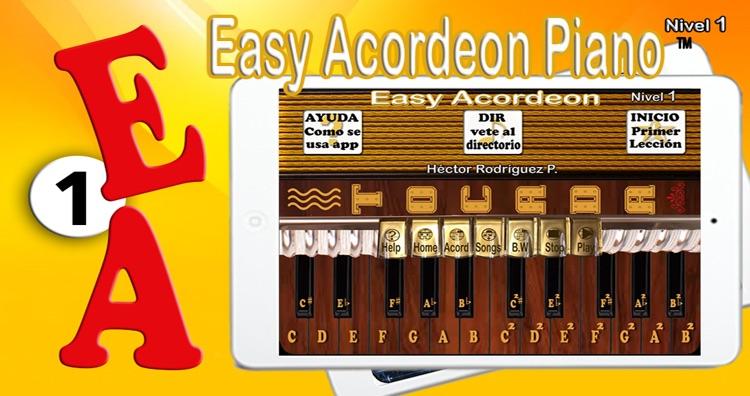 Easy Acordeon Piano 1