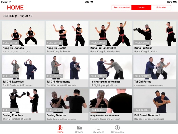 Martial Arts College: Video Lessons for iPad