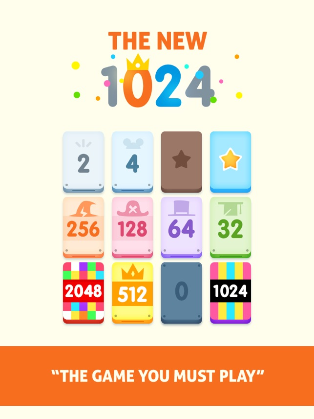 1024! on the App Store
