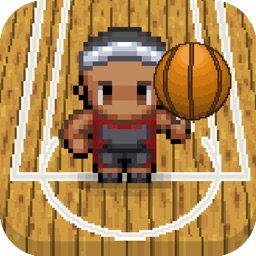 Spin the ball - Basketball Game Retro