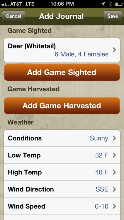 Hunting Journal Pro