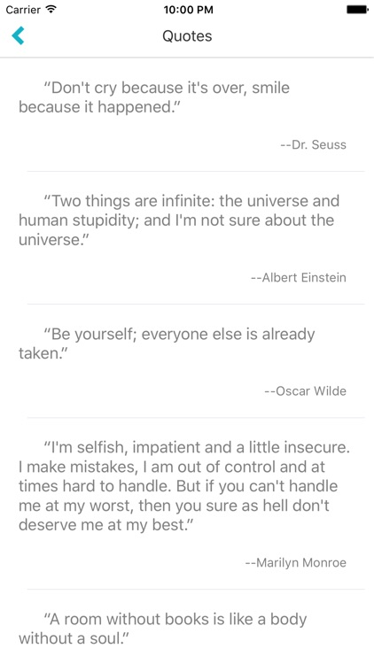 Quote Daily - quote display app screenshot-3