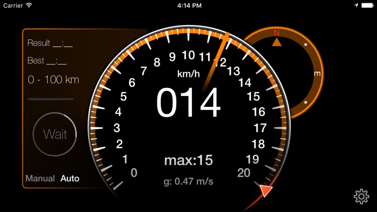 Speedometer [GPS] screenshot-2