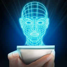 Hologram Human Head 3D Prank