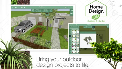 Screenshot #8 for Home Design 3D Outdoor&Garden