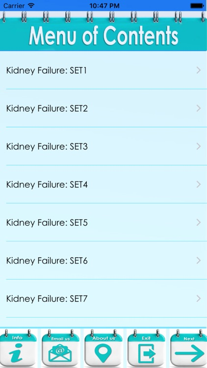 Kidney Failure: 3000 Flashcards screenshot-3