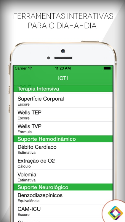 iCTI: Guia de Terapia Intensiva screenshot-3