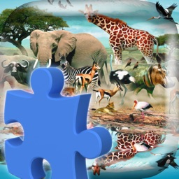 Animal Jigsaw Puzzle Game For Kids : Match All The Pieces To Solve Images Of Animals