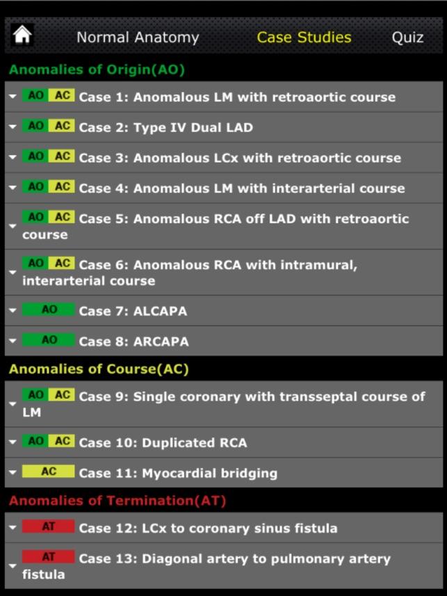 CTisus: CT of the Coronary Arteries on the App Store