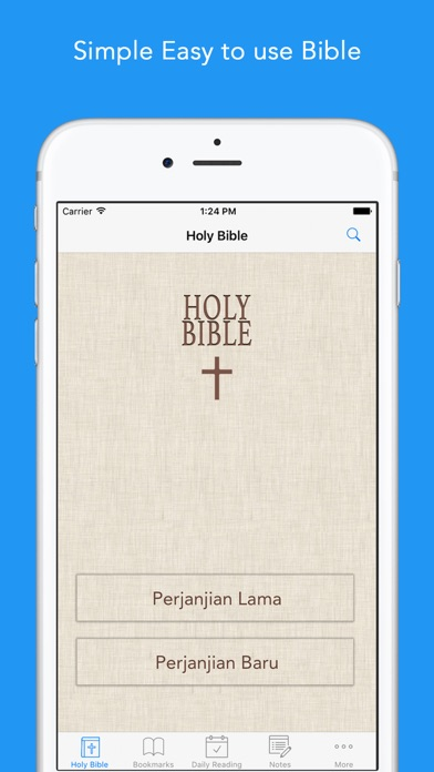 Alkitab: Easy to use Indonesian Bahasa Holy Bible App for