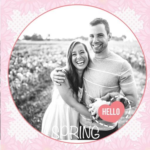 Spring Photo Frames - Instant Frame Maker & Photo Editor