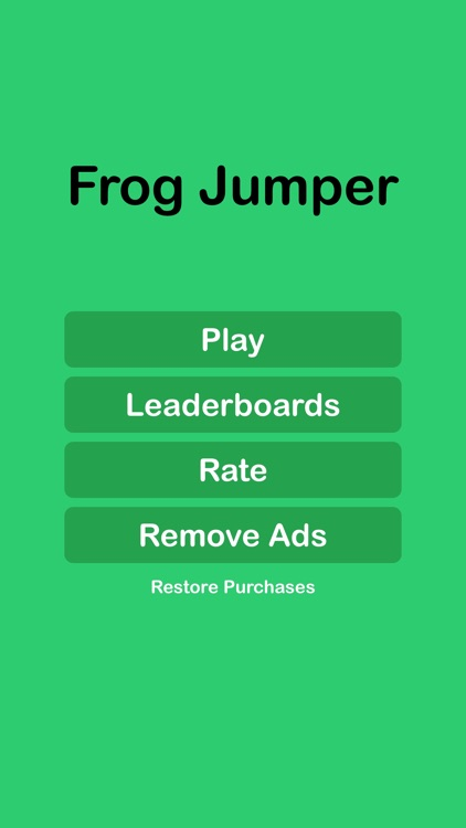 Frog Jumper Game