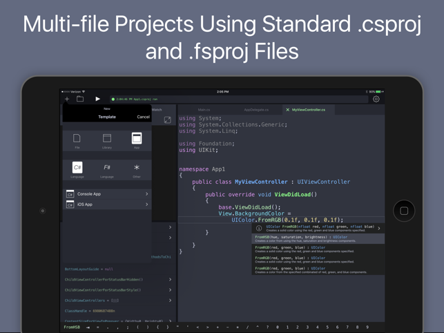 Continuous .NET C# and F# IDE Screenshot