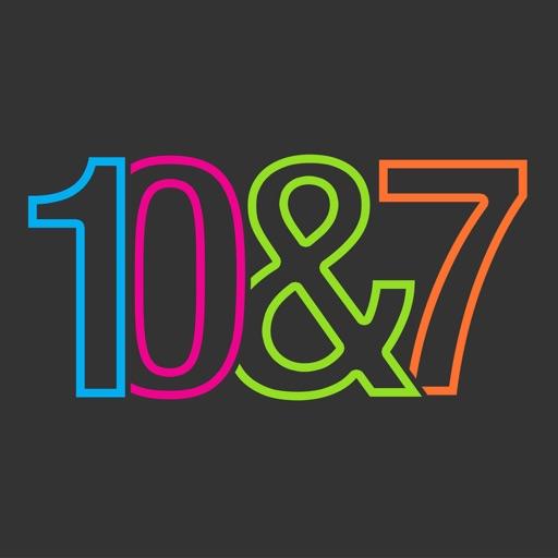10&7 icon