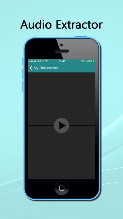 InstaAudio - Audio extractor from Video screenshot-4